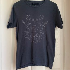 Free w/ Purchase❗️ FCUK Skull Rorschach Tee